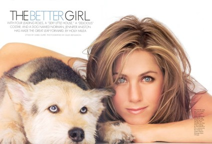 Jennifer Aniston, attivista PETA